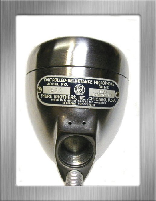 Manufacturing date of a vintage Shure microphone